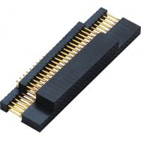 Best 2.54mm Gold Flash PC 104 Connector 180° DIP  2.0AMP H=11.0 DIP=12.2 PPS black ROHS wholesale