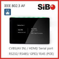 China touch panel POE 7 inch Android tablet pc with WIFI Ethernet Build-in NFC RFID Reader on sale