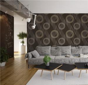 Cheap High quality cheap price modern styles PVC vinyl wall paper for sale