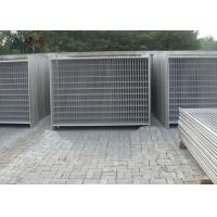 Cheap Outdoor Steel Temporary Fencing / Site Fence Panels For Sporting Safety Events for sale