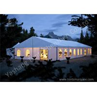 Quality Outdoor Aluminum Framed Water proof Fixable Party Tents, white soft pvc cover wholesale