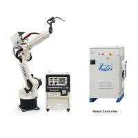 Buy cheap Steel Material Automatic Welding Robot , 6 Axis Industrial Robot 220/380V from wholesalers