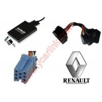 Best Digital MP3 USB SD interface adapter changer for Renault quadlock 12pin 2009+ wholesale
