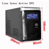 Best Output Overload Line Interactive UPS , Computer UPS Power Supply Short Circuit Protection wholesale