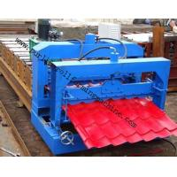 Best Metal Roof Forming Machine Glazed Tile Cold Forming Machin Color Steel Glazed Roofing Tile Making Machine wholesale