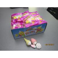 Best Four In One Ice Cream , Bun , Strawberry Shaped Sweet Marshmallow Candy For Christmas wholesale