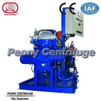 Quality Solid - Liquid Automatic Mineral Centrifugal Oil Separator Model 1600 L / h wholesale