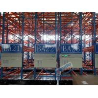 Best Cold Chains Q235B Steel Storage Racks Spacing Saving Pallet Racking Shelves wholesale