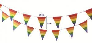 Best Indoor Triangle 20cmx30cm Decoration Flag Line wholesale