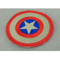 Best Custom Embroidery Fabric Iron Monkey Look Patch for Garment Washable wholesale