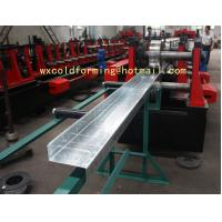Cheap C / Z Shape Automatic Changable Purlin Roll Forming Machine Hydraulic Punching for sale