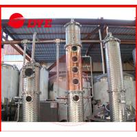 Best Micro Red Copper Wine / Vodka Distillery Equipment Commercial Customized wholesale