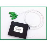 Best FTTH GEPON EPON plc optical splitter 1x4 Optical Coupler SC / APC wholesale