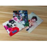 Best Manufacturer Price 100LPI lenticular Plastic Cards Offset Printing 3D business Cards with strong lenticular effect wholesale
