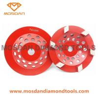 Buy cheap 7'' Super Stripper Concrete Cup Wheel Discs with 6 Rhombus from wholesalers