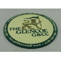 Best Promotional 2D PVC Coaster , Custom Plastic Luggage Tag For Business wholesale
