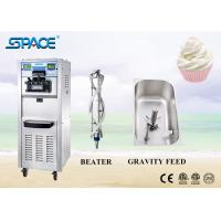 Best Commercial 3 Flavor Soft Serve Freezer , Ice Cream Maker Machine For Business wholesale