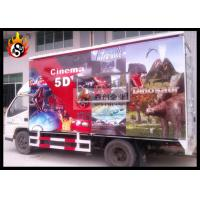 Cheap Special XD Theatre with Mobile Cinema Equipment , 5D Mobile Cinema for sale