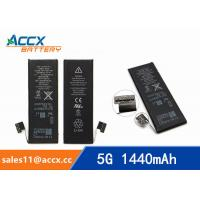 Best ACCX brand new high quality li-polymer internal mobile phone battery for IPhone 5G with high capacity of 1440mAh 3.7V wholesale