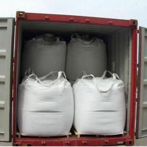 Best Circular / Tubular Half Cross Corner PP Woven Big Bag FIBC With Stevodore Strape wholesale
