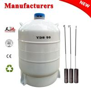 Best TIANCHI 50L Liquid Nitrogen Cylinder YDS-50 Aviation Aluminum Container Price wholesale