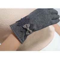 Best Ladies customized women's fashion micro velvet fabric gloves for iphone screens wholesale