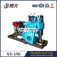 Best Manufacturer XY-150 150mDepth Geothermal Core Drilling Rigs, small water well drilling rig wholesale