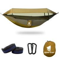 Best W140cm multifunction Portable Hammock With Mosquito Net wholesale
