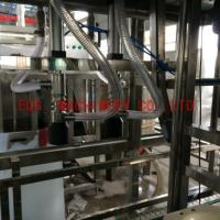 Cheap 50HZ Automatic 5 Gallon Filling Machine , 300BPH Pure Water Linear filling for sale