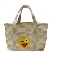 Best Recycled Custom Canvas Tote Bags With Heat Transfer Printing Logo wholesale
