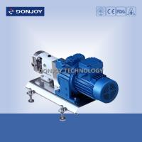 Best 316L Horizontal TUL Lobe High Purity Pumps with Explosion proof Motor Clamp End Connection wholesale