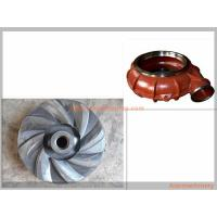 Best Metallurgy Mining Slurry Pump Spare Parts Corrosion Resistance Various Materials wholesale