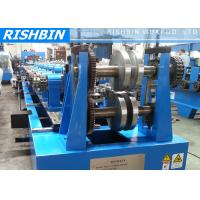 Quality Changeover Purlin Roll Forming Machine with Integrated Inline Punching wholesale