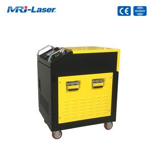 Best Air Cooling 100W Fiber Laser Cleaning Machine For Rust Removal wholesale
