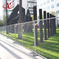 Best Professional Temporary Chain Link Fence Panels For Sports Field / Construction Site wholesale
