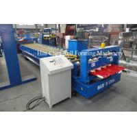 Hydraulic Cutting 17 Stations Roofing Roll Forming Machine High Grade 45# Steel