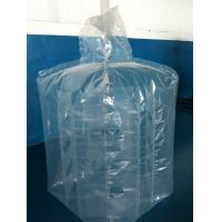 Best Large 4mil 6mil thickness PE square baffle liners attached to big bags wholesale