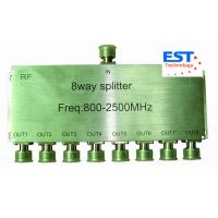 Best 8.5db 8 Way High Frequency Splitter 800-2500MHZ with N-female Connector wholesale