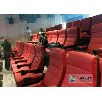 Best Comfortable 4D Movie Theater Seats With Digital Sound System Low Noise wholesale