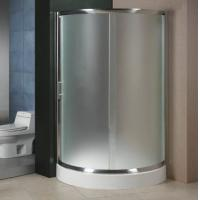 Best Intellegent Glass Shower Partition / Privacy Glass Shower Room For Hotel wholesale