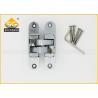 Cheap Zinc Alloy Concealed Invisible Door Hinges , 3D Adjsuatble Cupboard Door Hinges wholesale