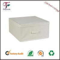 Best Outdoor White in color cushion fabric clothing storage box wholesale