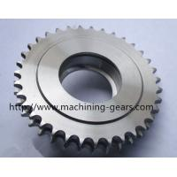 Steel Chain Sprocket Wheel Double Plate Large Pitch Diameter Gear