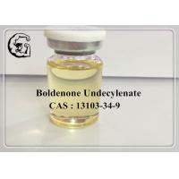 Best CAS 13103-34-9 Boldenone Undecylenate Injectable Anabolic Steroids 300mg/ml Equipoise Purity: 98% MF: C30H44O3 wholesale