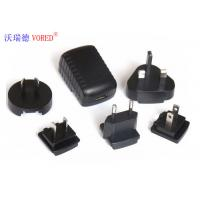 Best Black Interchangeable Power Supply PC ABS Material 5 Volt Output Voltage wholesale