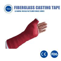 Buy cheap Good quality medical orthopedic soft colorful fiberglass casting tape soft polyester casts from wholesalers