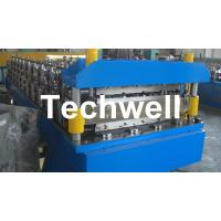 Cheap Double Layer Roof Wall Panel Cold Roll Forming Machine for Two Different Roof Panels for sale