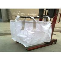 Best 4 - Panel Pp Woven Bag Custom Color , Plain Fabric Fibc Jumbo Bags For Grain wholesale