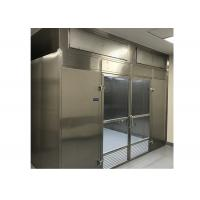 Best Low Noise Laminar Flow Clean Room Booth With Energy Efficient High Air Volume Fan wholesale