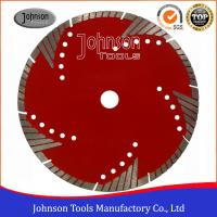 China D105-230mm Masonry Diamond Blade , Diamond Wet Saw Blades Fast Cutting  on sale